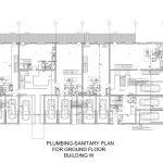 Plumbing-Sanitary-plan
